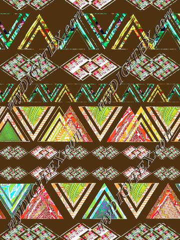 Aztec stripes