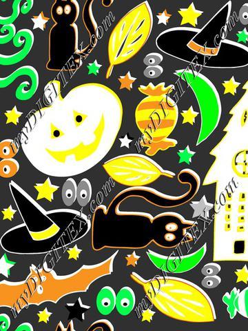 retro halloween pattern_Angi Mullhatten_instructor_2018