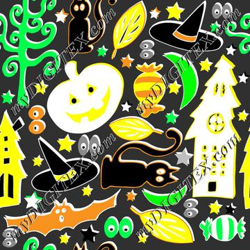 retro halloween pattern_Angi Mullhatten_instructor_2018