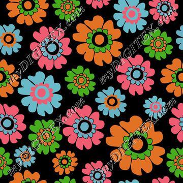 Modern Brights florals, bright blooms
