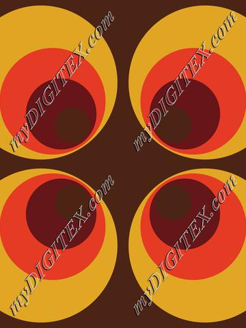 Abstract Retro Vintage Pattern