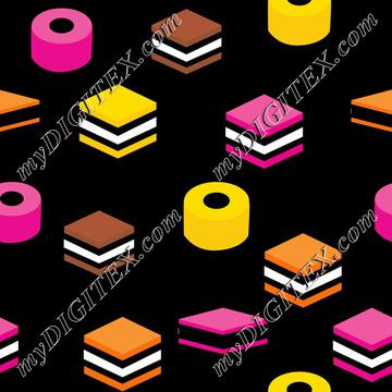 Colorfful licorice, english licorice, colorful candy