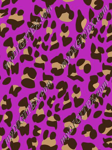 Leopard skin, Cheetah skin on purple