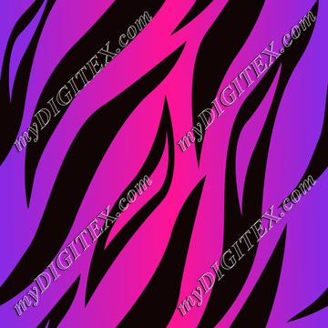 Tiger Skin Pink and Purple