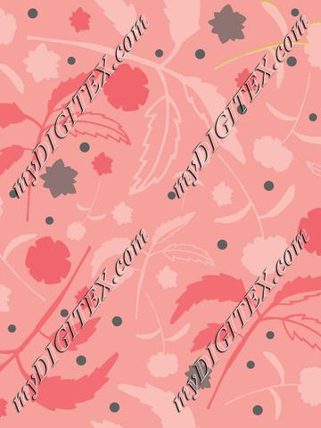 Floral with Leaves Cood. A-01