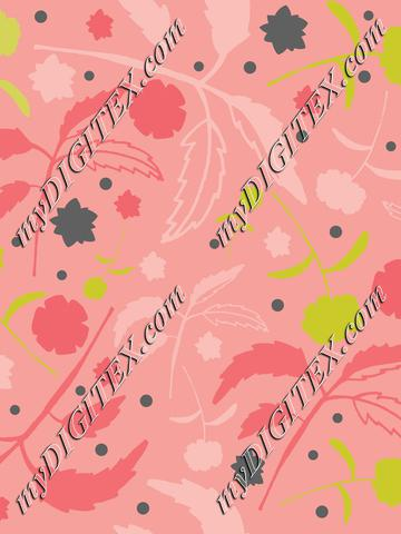 Floral with leaves-01