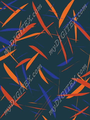 geometric blue and orange3