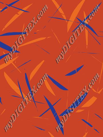 geometric blue and orange4 cropped