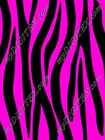 Zebra Skin Pink