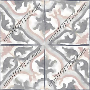 TRACY Tile 005b-4inch-REPEAT x4yds