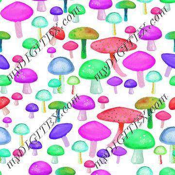 colorful mushrooms 2