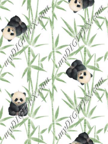 Panda #8f989e
