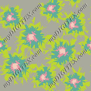 Graphic Flower Coordinate_5-01
