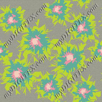 Graphic Flower Coordinate_6-01