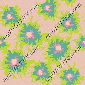 Graphic Flower Coordinate_7-01