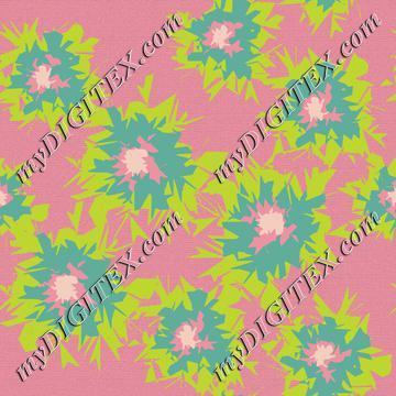 Graphic Flower Coordinate_8-01