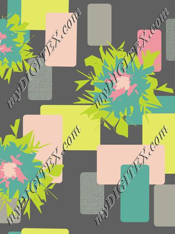 Graphic Flower with Dark Gray Background-01