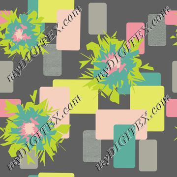 Graphic Flower with Dark Gray Background-01