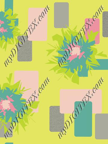 Graphic Flower Yellow Background-01