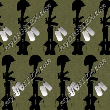 Fallen Soldiers (Olive Drab)