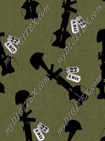 Fallen Soldiers 22 (tossed)