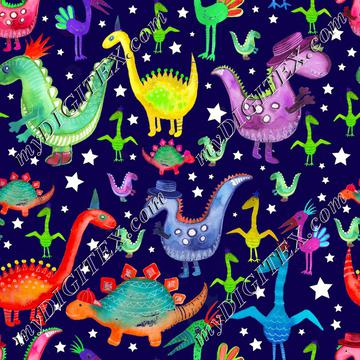 Dino Pattern3_AngiMullhattenwithstars-01