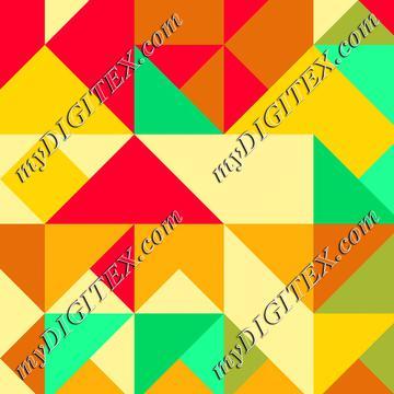Retro colors shapes