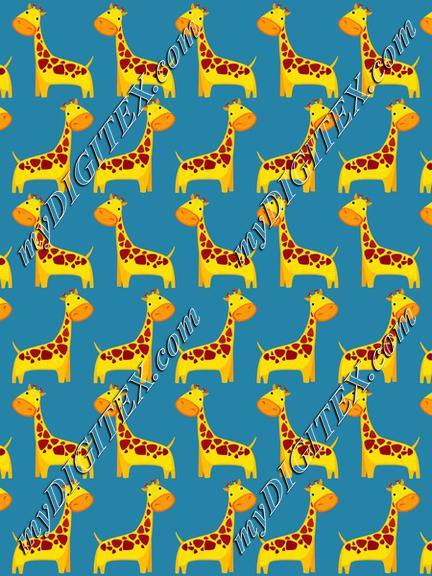 Giraffes pattern