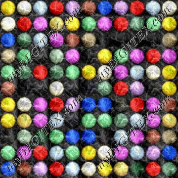 Colorful circle buttons