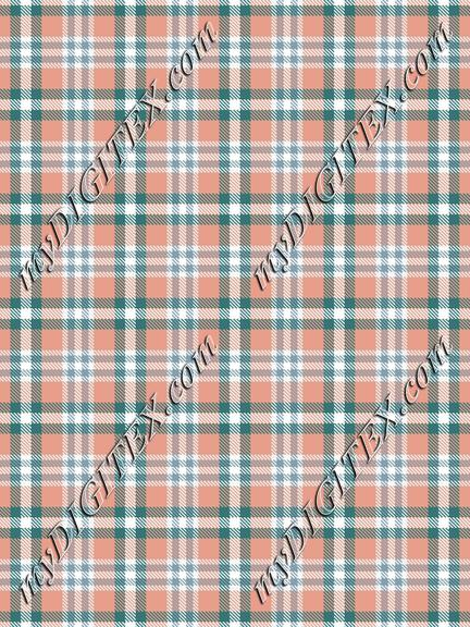 Earthy Plaid Print