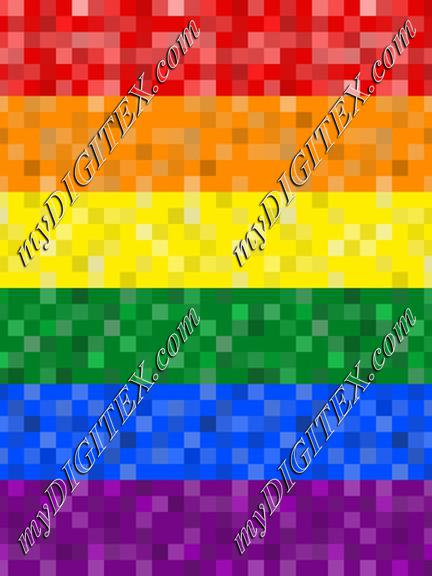 Pixelated Pride (horizontal)
