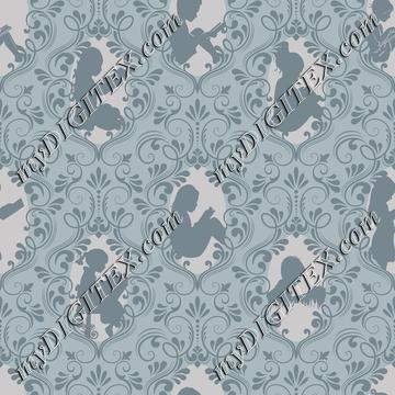 Little Readers Damask