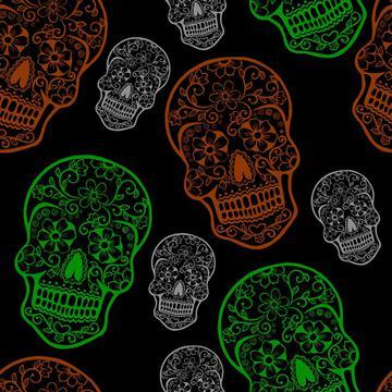 Stitched Sugar Skulls