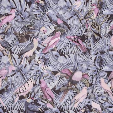 Jungle Parrots Pattern