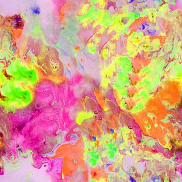 marbled fabric sherbet