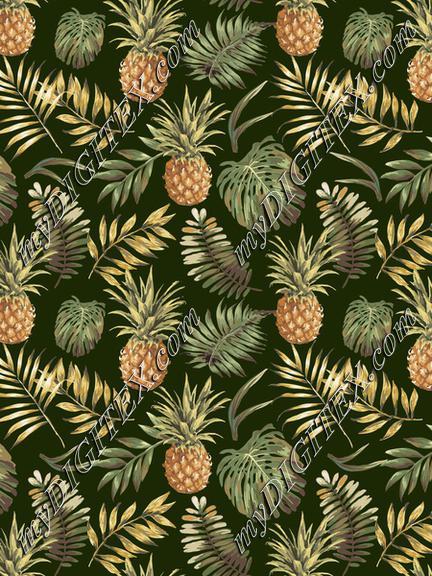 Aloha Pineapple Pattern