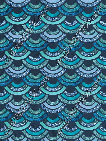 Fancy Mermaid Pattern