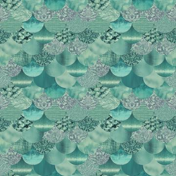 Fancy Mermaid Pattern
