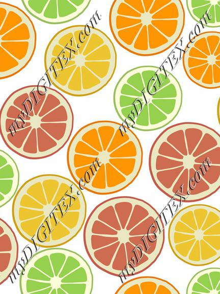 Tropical Fruit, Citrus Fruit Orange Lemon Lime