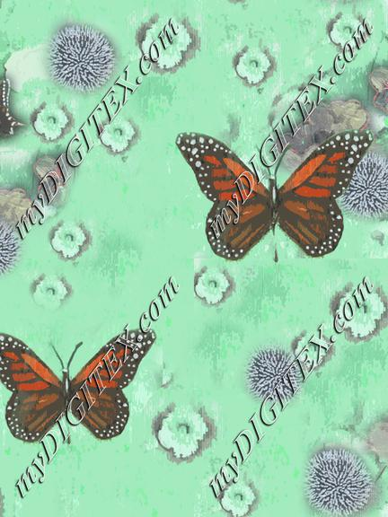 Butterflies Painted original