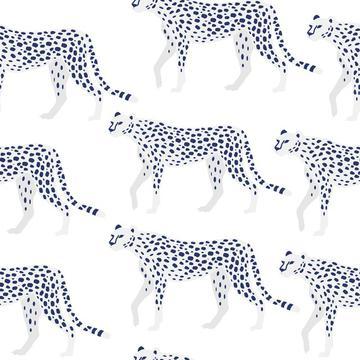 Snow Leopard, white Cheetah