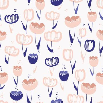 Whimsy Tulips