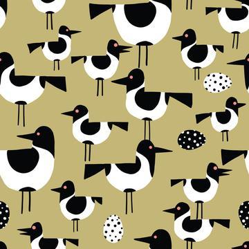Seabirds sand-01