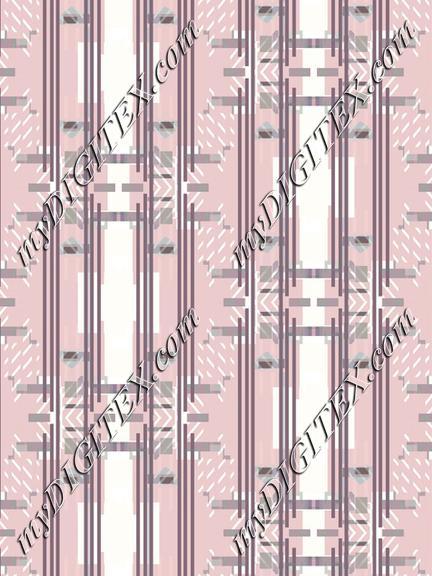 Pastel pink minimal striped pattern
