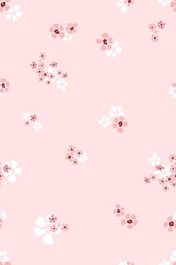 Blush Pink Floral print