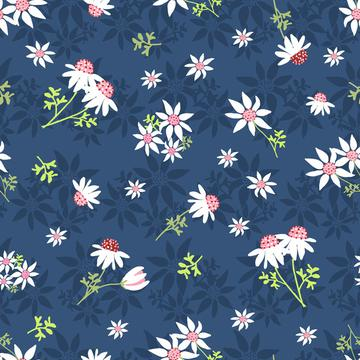 Flannel-Flowers-Navy
