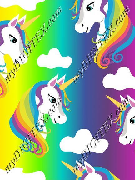 Rainbow Unicorns on Rainbow
