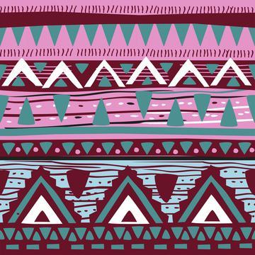Watercolor Succulents (Tribal Texture 4)
