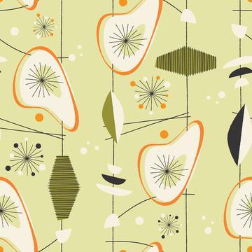Avocado Shag (Vintage Pattern 1)