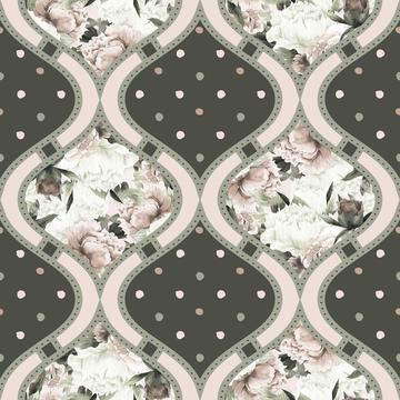 Antique Bouquet Pattern 1